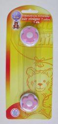 Baby Bruin többfunkciós biztonsági zár, 7 colos - rózsaszin