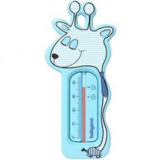 BabyOno Vízhőmérő - kék  zsiráf