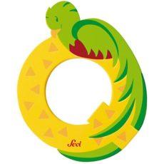 Sevi Fa betű állatos - Q sárga