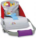 Asalvo Go Anywhere textil székmagasító utazószék háttámlás székre - Zeppelin