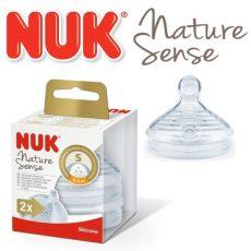 Nuk 0-6+ Nature Sense etetőcumi - S méret