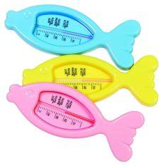 Baby Bruin halacskás fürdővízhőmérő - rózsaszín