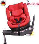 Avova Sperber-Fix I-Size 360° biztonsági gyerekülés 40-105 cm - Maple red