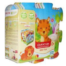Trefl szivacs puzzle - állatkerti móka