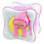 Chicco Szivárvány Kocka projektor - rózsaszín
